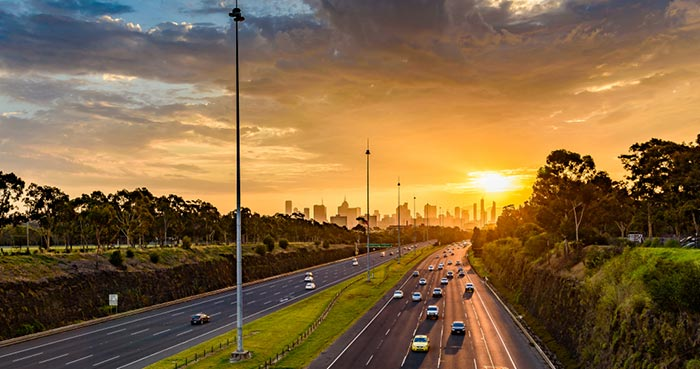 Opciones para viajar deMelbourne a Canberra