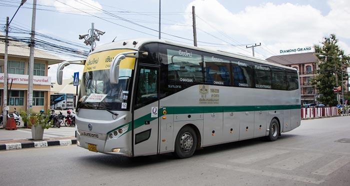 De Pai a Chiang Rai en autobús