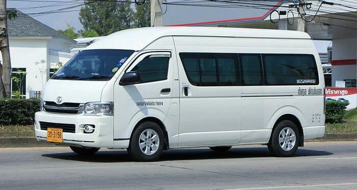 De Pai a Chiang Rai en furgoneta