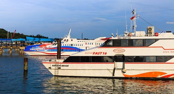 De Singapur a Batam en ferry