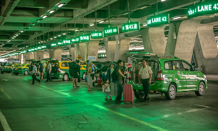 Del Aeropuerto de Suvarnabhumi a Pattaya en taxi
