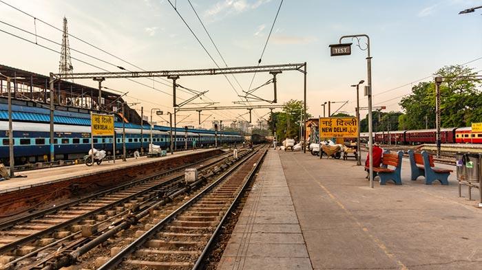 De Delhi a Uttarakhand en tren