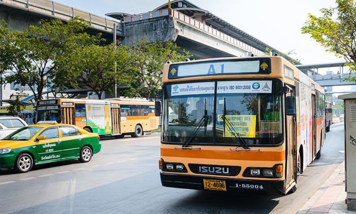 Del Aeropuerto de Don Mueang a Pattaya en autobús