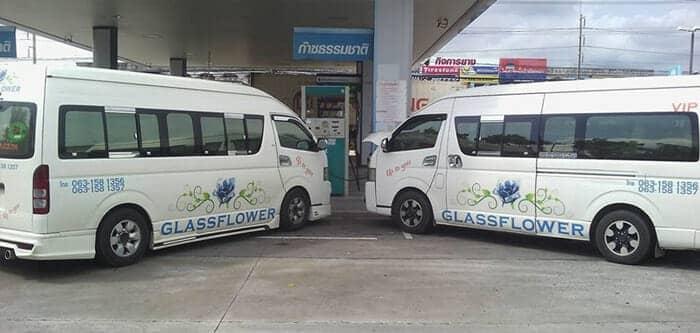 De Pattaya a Hua Hin en taxi o furgoneta