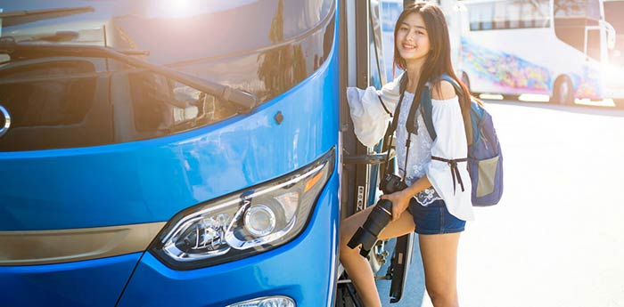 De Manila a Batangas en autobús