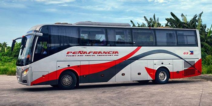 De Manila a Legazpi en autobús