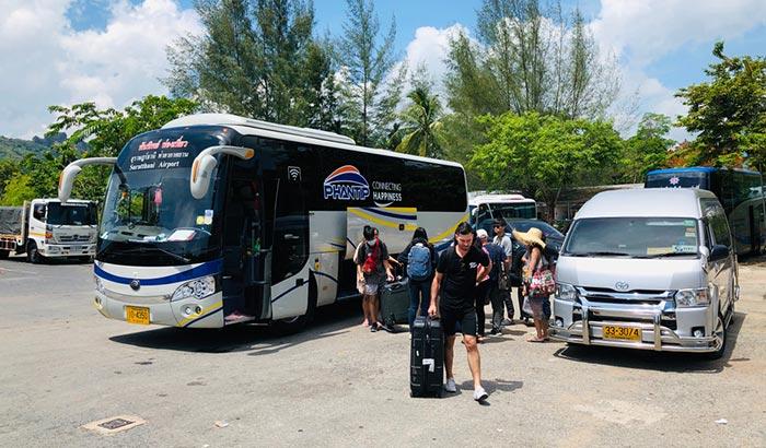 De Surat Thani a Phuket en autobús
