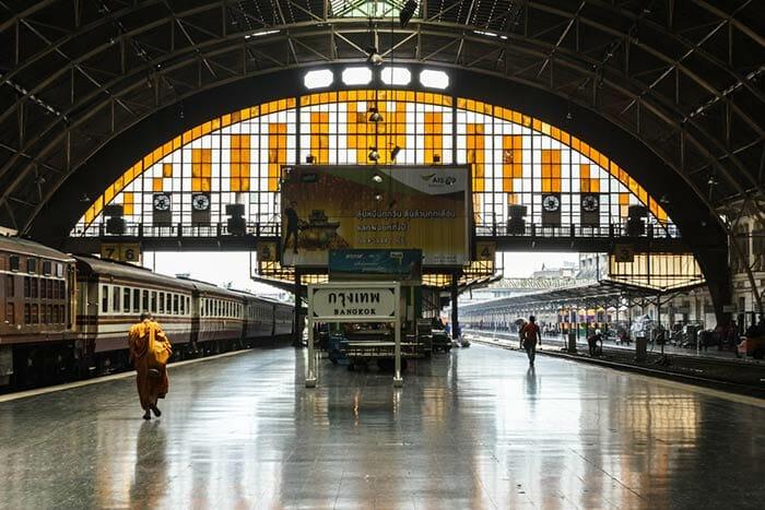 Tren de Pattaya a Hua Hin