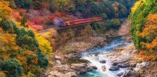 Viajar en tren por Japón