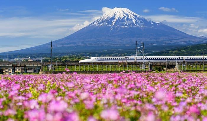 ¿Es seguro viajar en tren por Japón?
