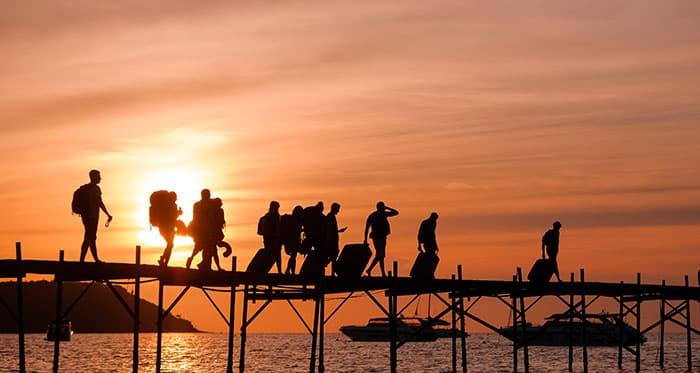 Dónde comprar los billetes para viajar en ferry en Tailandia