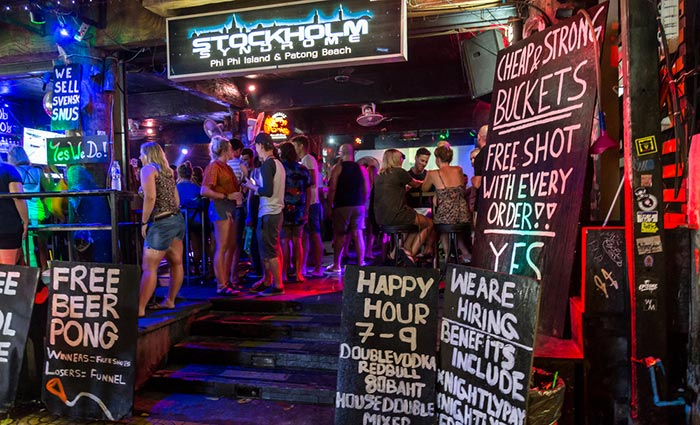 Mejores bares en Koh Phi Phi