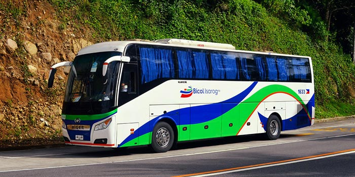 De Manila a Naga en autobús