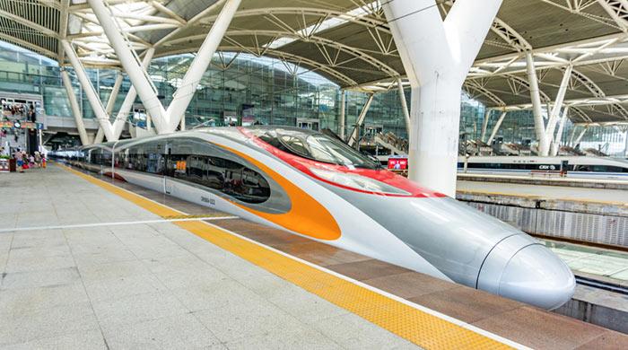De Hong Kong a Guangzhou en tren