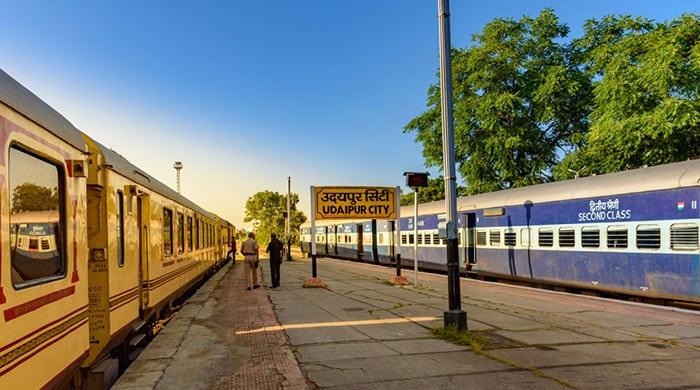 De Jaipur a Udaipur en tren