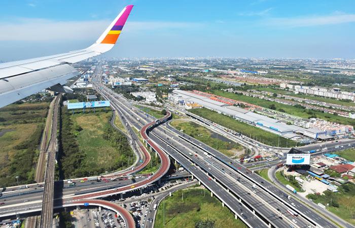 Opciones para ir del Aeropuerto de Suvarnabhumi a Bangkok