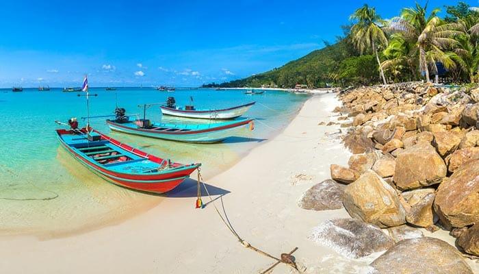 Las playas de Koh Phangan