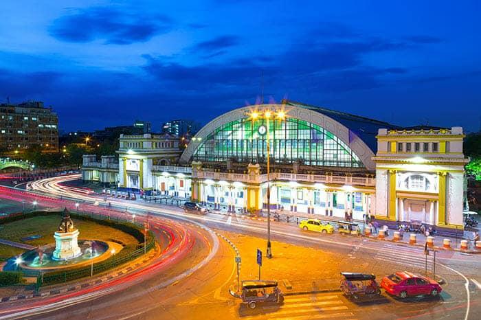 De Bangkok a Khon Kaen en tren