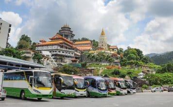 Viajar en autobús en Malasia