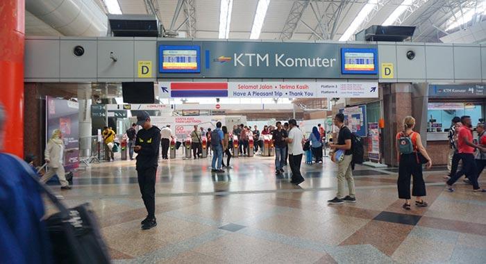 Dónde comprar los billetes para viajar en tren en Malasia