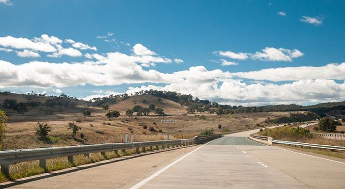 Opciones para viajar de Albury a Canberra