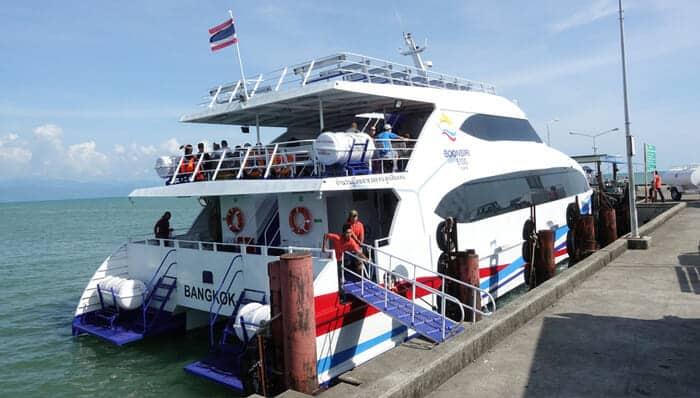 Viajar de Bangkok a Koh Kood en furgoneta y ferry