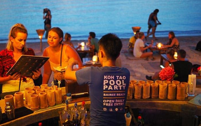Mejores lugares para comer y beber en Koh Tao