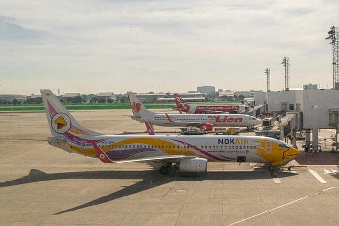 Vuelos de Bangkok a Phitsanulok