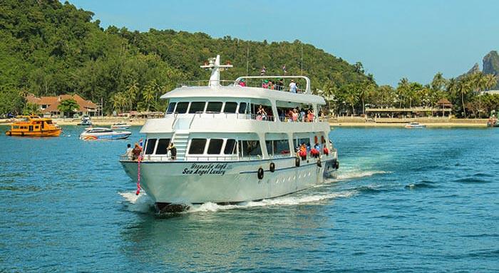 De Koh Phi Phi a Koh Lanta en ferry