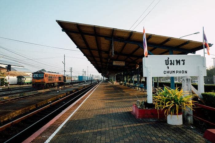 De Koh Tao a Bangkok en tren