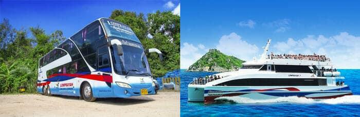De Koh Tao a Koh Phi Phi en ferry y autobús