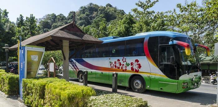 De Krabi a Khao Sok en autobús
