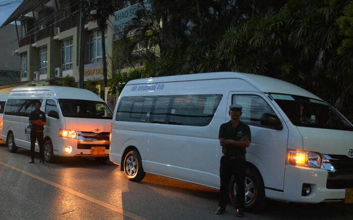 De Krabi a Khao Sok en furgoneta