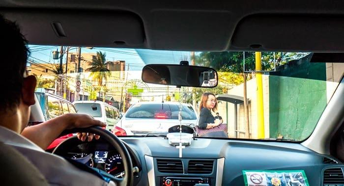De Manila a Baguio en taxi