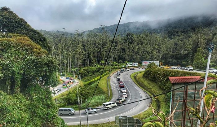 Opciones para ir de Singapur a Cameron Highlands