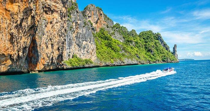 De Koh Phi Phi a Koh Lanta en barco rápido