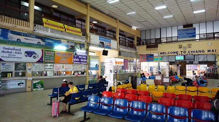 De Chiang Mai a Sukhothai en autobús