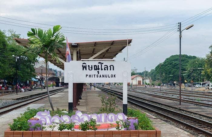 De Chiang Mai a Sukhothai en tren