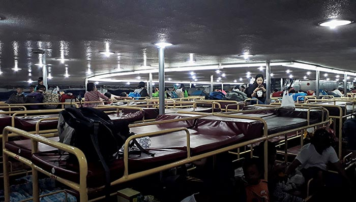 De Manila a Dumaguete en ferry