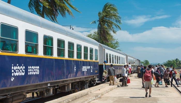 De Phnom Penh a Kampot en tren