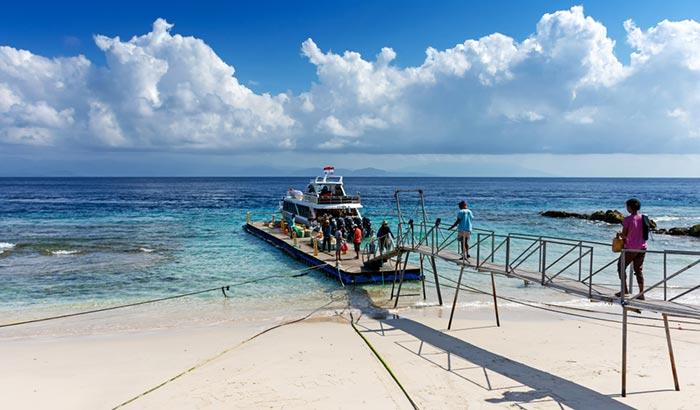 Opciones para viajar de Sanur a Nusa Penida